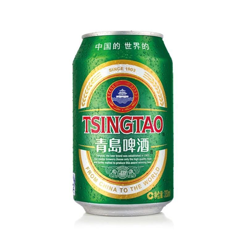 青岛啤酒 经典小罐330ml*6听简易装