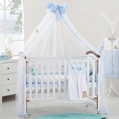 笑巴喜 新款万能安装蚊帐 开门式婴儿床蚊帐 宝宝蚊帐