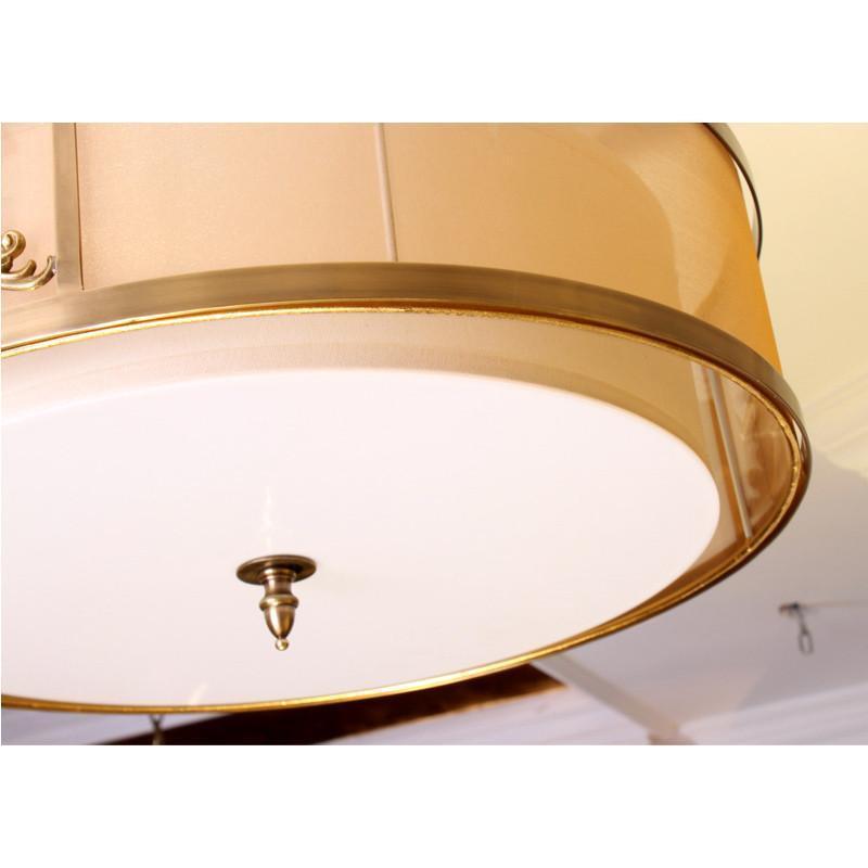灯欧式中式客厅灯圆形吸顶灯美式温馨卧室吸顶灯艺术