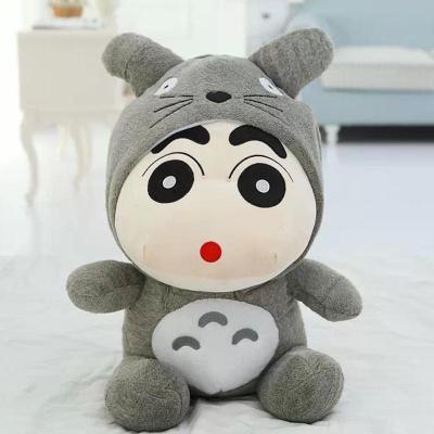 安吉宝贝 创意龙猫蜡笔小新公仔毛绒玩具玩偶 可爱布娃娃元旦生日礼物