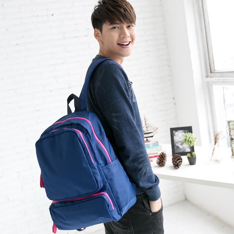 吉野2015新款男女双肩包韩版背包潮男包包大包包尼龙包防水包大包包