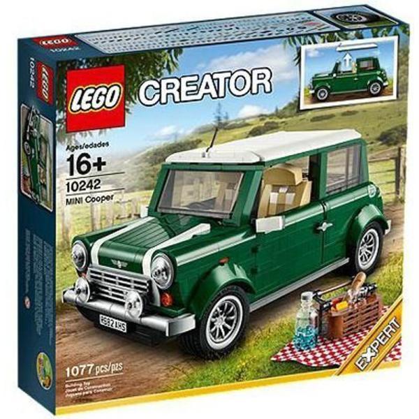lego 乐高 10242 创意系列 迷你库普尔 mini cooper 拼插积木