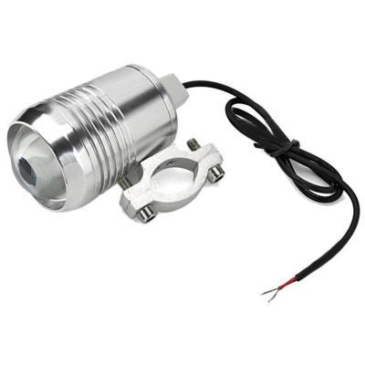 聚光u2激光炮30w三档调节led外置灯射灯摩托车电动车