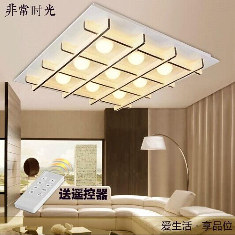 客厅灯现代简约创意大气时尚led吸顶灯卧室灯具艺术