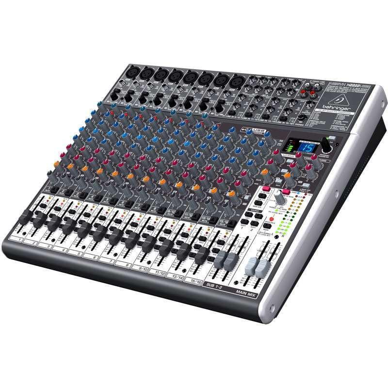 百灵达x2222usb 模拟调音台