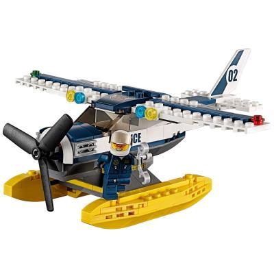 乐高水上飞机追击l60070