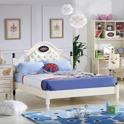 欧式单人儿童床效果图男孩