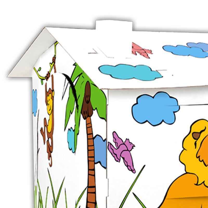手绘游戏屋--热带草原