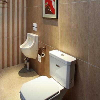 欧式家庭卫生间瓷砖装修效果图