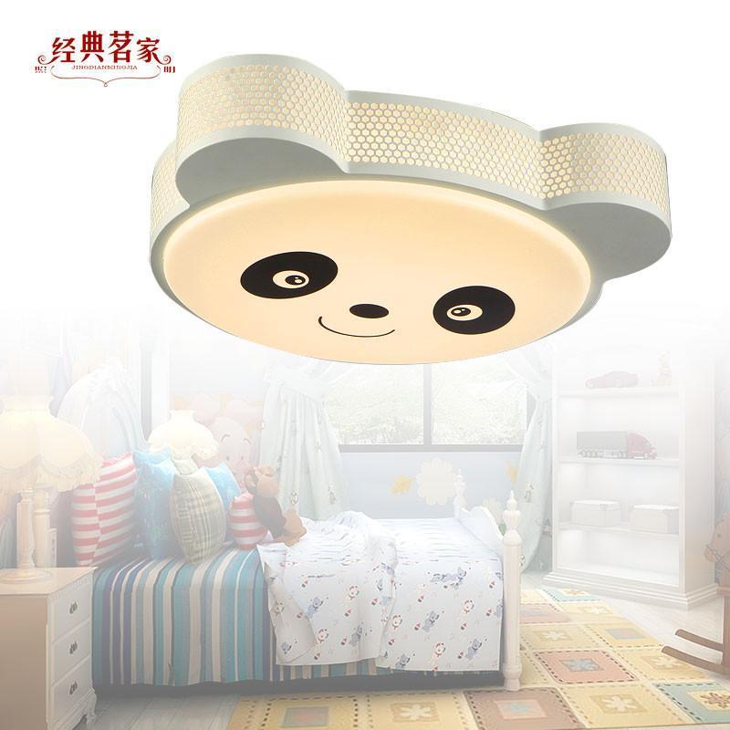 卡通男孩房间灯功夫熊猫灯可爱小熊猫漫画灯饰x34