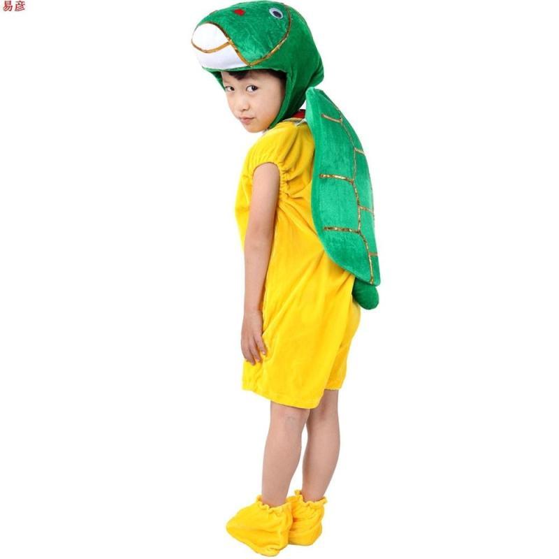 【皇冠猴仿真模型】易彦小乌龟动物服装 演出服乌龟服