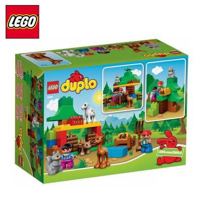 乐高积木小动物们l10582德宝得宝系列duplo森林男孩女孩拼装玩具