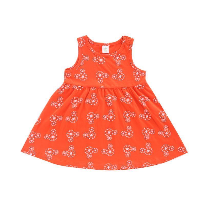 女童连衣裙夏季儿童纯棉针织背心裙