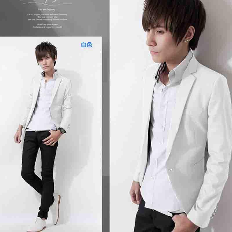 时尚男士西服男装春装新款韩版修身小西装男生休闲