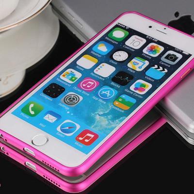 苹果6手机壳 iphone6plus手机壳 iphone6无极金属边框 4.