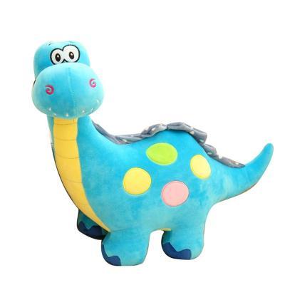 安吉宝贝可爱彩色小恐龙毛绒玩具公仔 儿童玩偶布娃娃