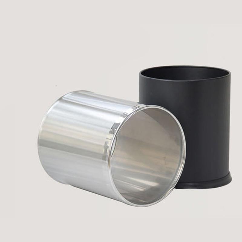 不锈钢双层垃圾桶 客房桶