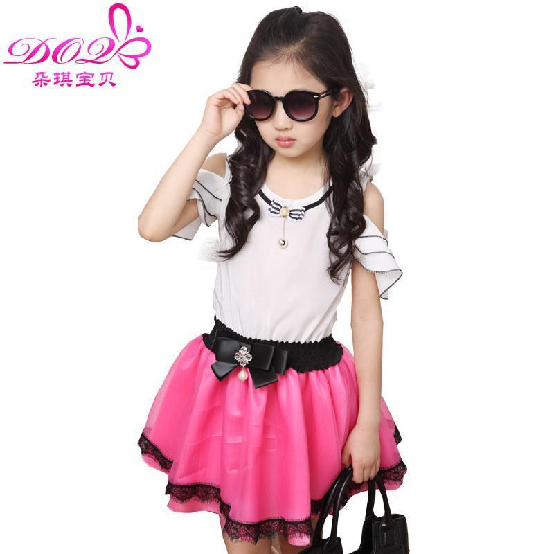 【朵琪宝贝裙子】朵琪宝贝童装女童夏装可爱甜美公主