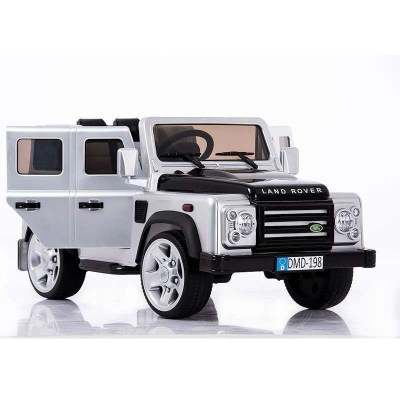 新款路虎双开门儿童电动车越野遥控汽车路虎悍马婴儿电动车玩具车可坐