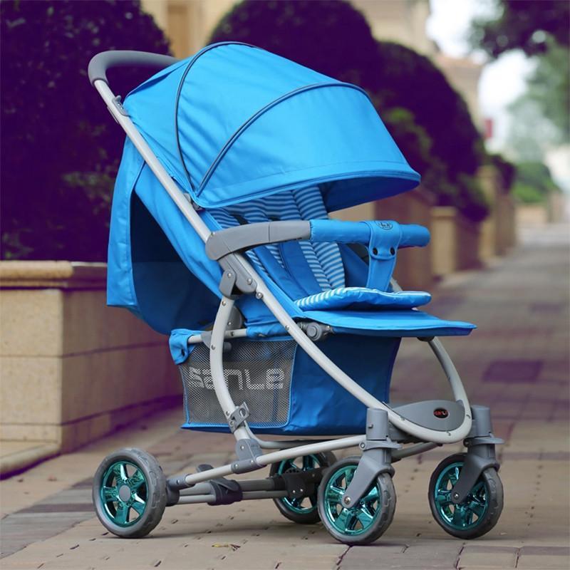三乐婴儿车轻便折叠 婴儿手推车四轮避震新生儿婴儿