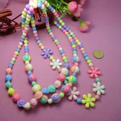 串珠系锦鲤手工儿童diy穿珠益智玩具幼儿园养殖糖果弱视手链ef26002材料制作图片