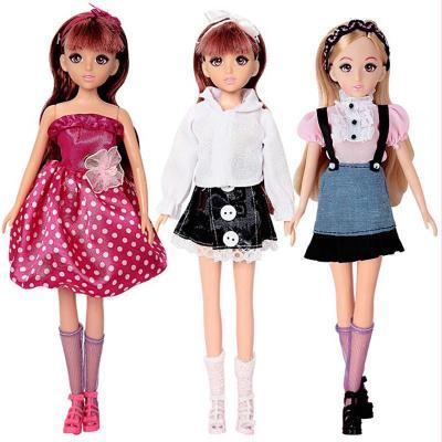 乐吉儿芭比娃娃 公仔布洋娃娃可爱女孩儿童玩具 漂亮礼物 l8888梦幻