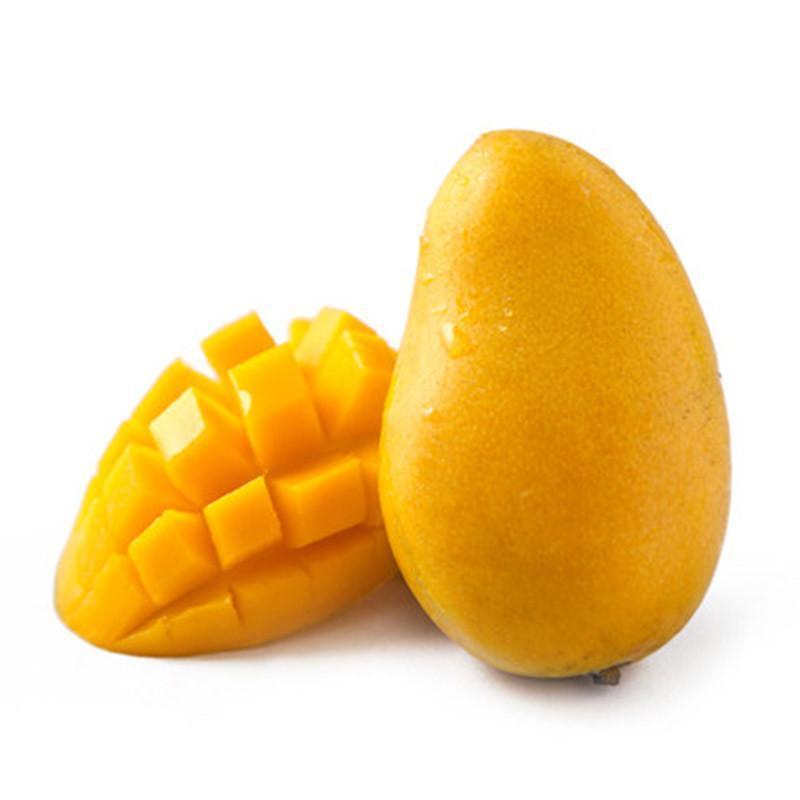 【果郡王】海南小台农芒果3斤装 鲜芒果 鸡蛋芒 新鲜水果