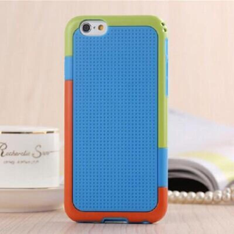 iphone6金属边框多彩撞色