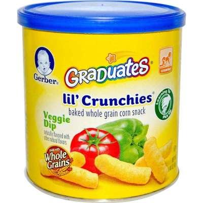 Gerber 嘉宝 蔬菜奶酪口味泡芙条 宝宝营养辅食/零食 磨牙棒42g ¥20