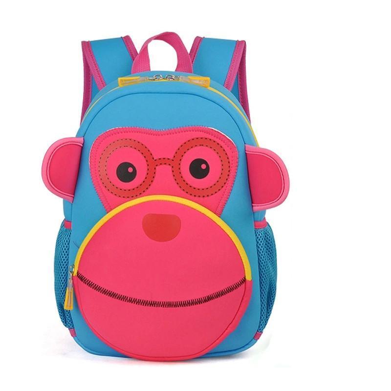 申派儿童书包 可爱动物卡通小背包3-6周岁男女童减负防水幼儿书包 rt