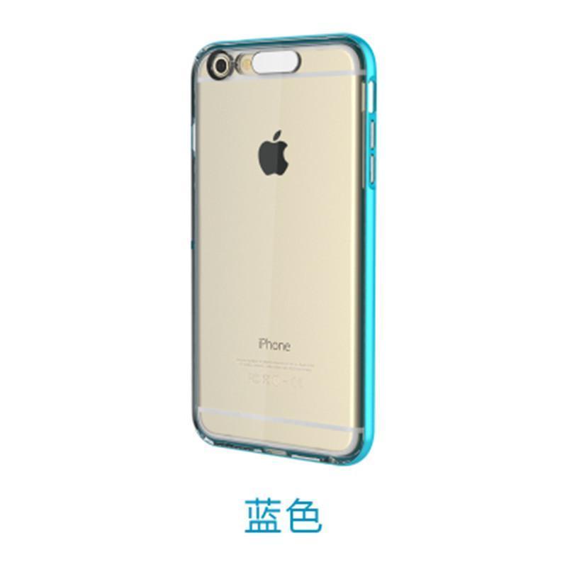 7寸苹果6手机壳边框透明保护套外壳潮