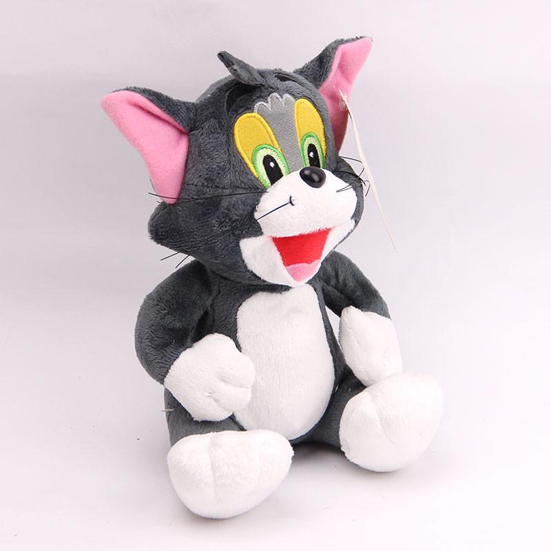 宝诚达 新品可爱汤姆猫杰瑞鼠毛绒玩具公仔猫布娃娃儿童礼物 坐姿猫