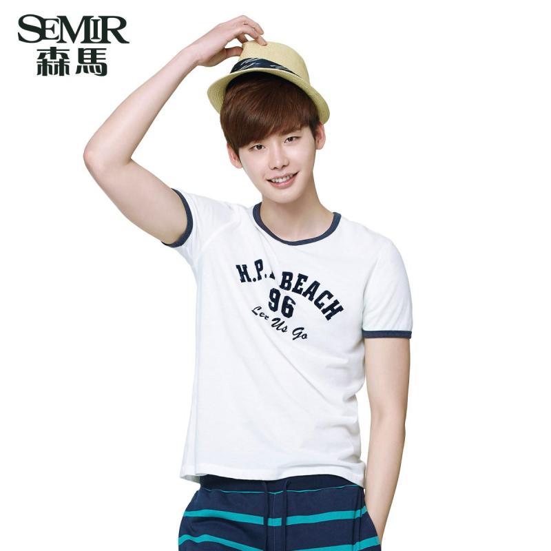 【森马(semir)男士t恤】森马2015夏装新款短袖t恤图片