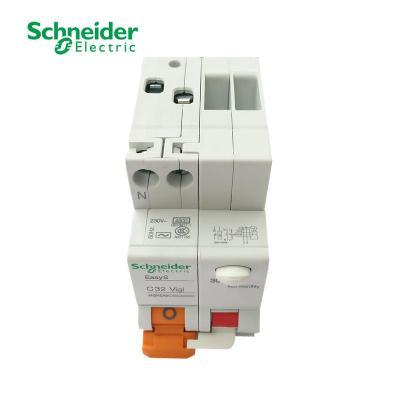 施耐德漏电保护器 1p 接线图解