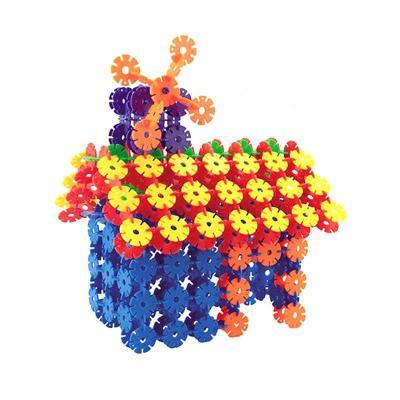积木 拼插玩具 迷宫/拼图 磁力棒/磁贴 立体纸模 奇粤(qi yue) 雪花片