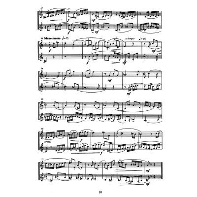 高级二声部视唱练习曲15首及三声部视唱练习