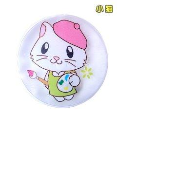 神奇免充电自动发热暖手袋/热宝-圆形小猫咪