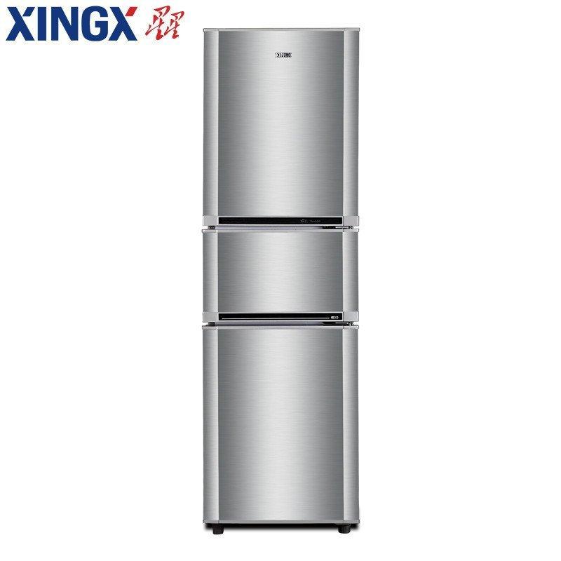 星星(XINGX) BCD-188EC 188升 三门冰箱 (银色)