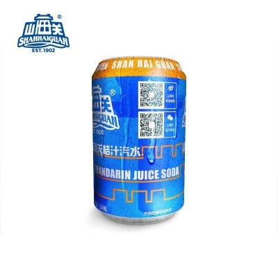 山海关 果汁 果味 碳酸饮料 汽水 330ml*24听