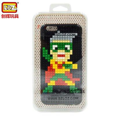 电影煎饼侠同款手机壳套iphone6plus积木5.