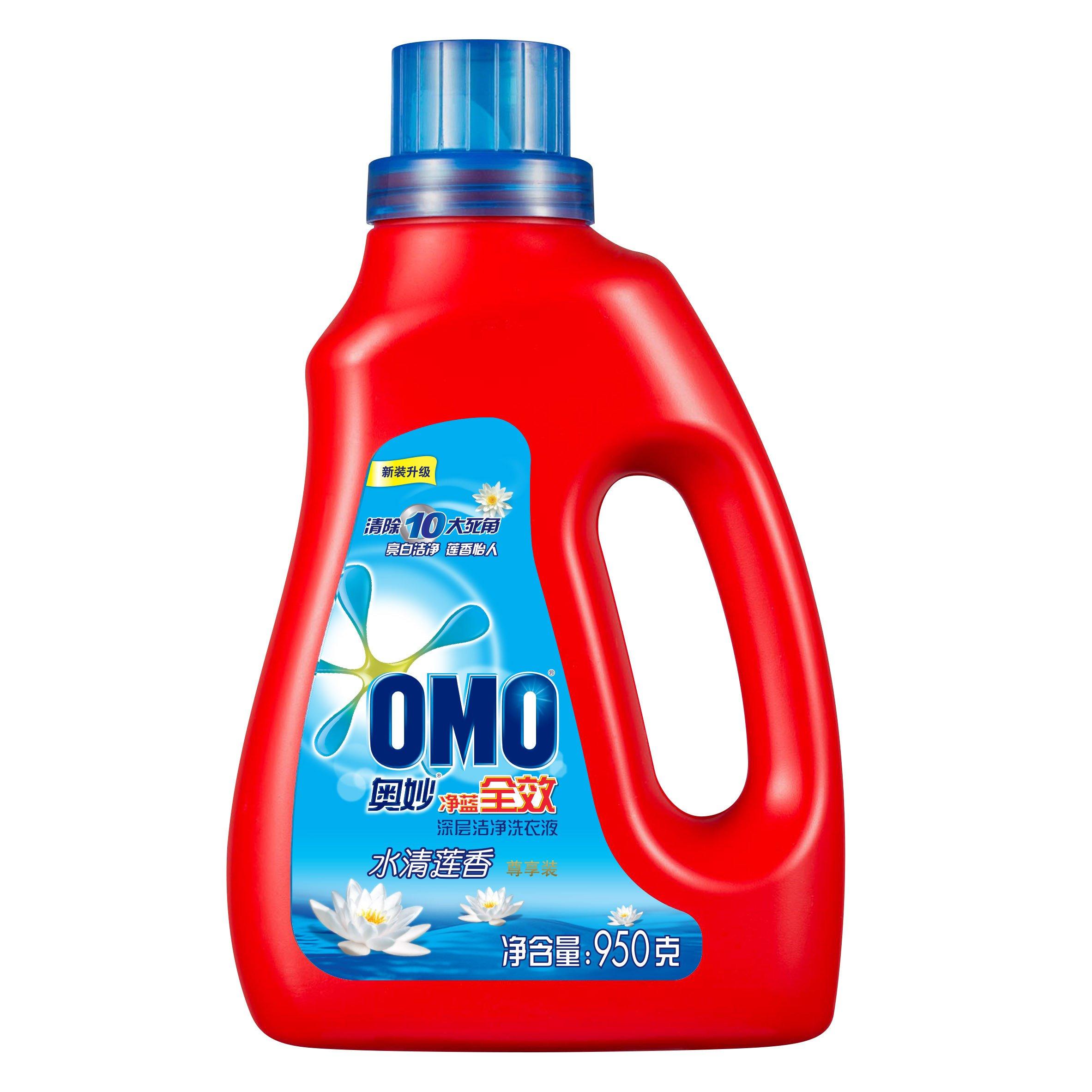 限地区:奥妙 净蓝全效水清莲香深层洁净洗衣液 950g