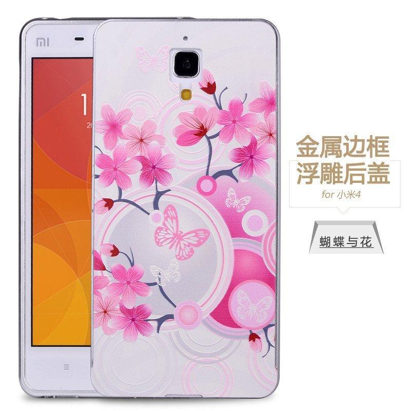 小米4手机壳立体图片手机小米后盖4手机套M浮雕小米2000至3000元彩绘图片