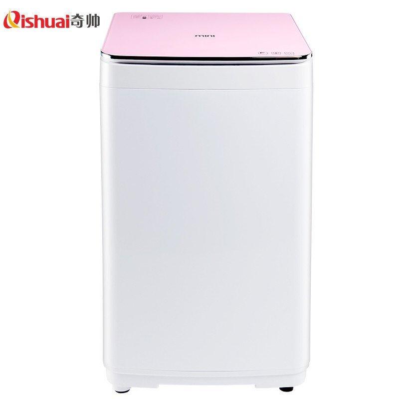 奇帅/Qishuai XQB40-400 4公斤全自动婴儿家用儿童迷你波轮洗衣机(星光粉)