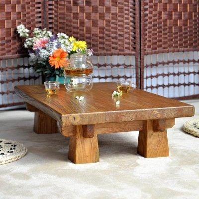 老榆木家具炕桌