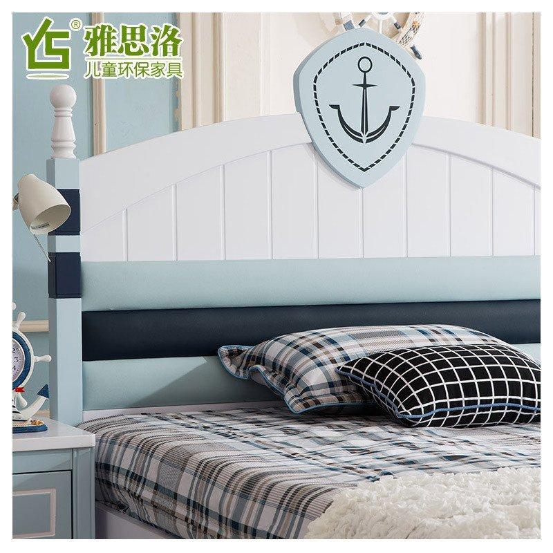 1.5米单人床王子小孩床欧式儿童床男孩