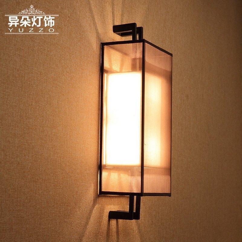 新中式壁灯卧室床头灯镜前灯