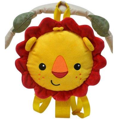 幼儿园小班手工动物狮子