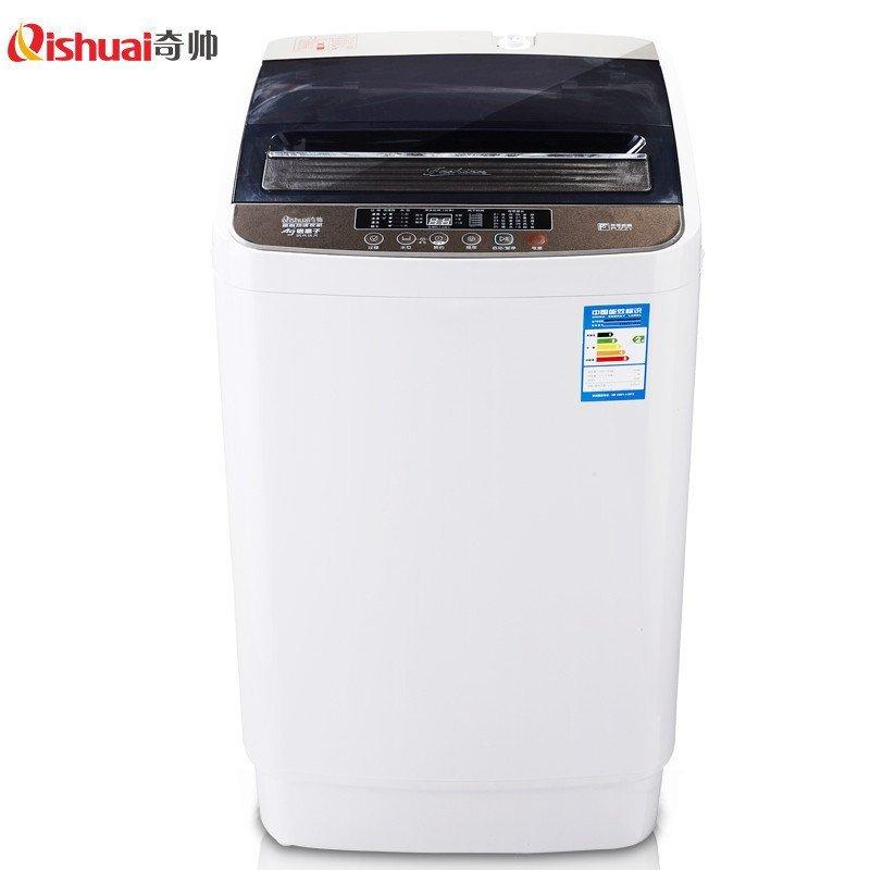 奇帅/Qishuai XQB60-6068 6公斤全自动家用节能波轮洗衣机(茶灰)