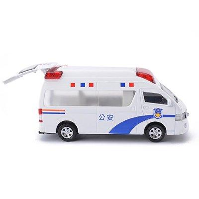 1:32合金120救护车110警车特警模型仿真汽车儿童玩具
