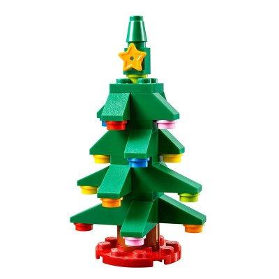 积木拼插 乐高积木拼插 lego 乐高小小圣诞树拼砌包 l30286简介